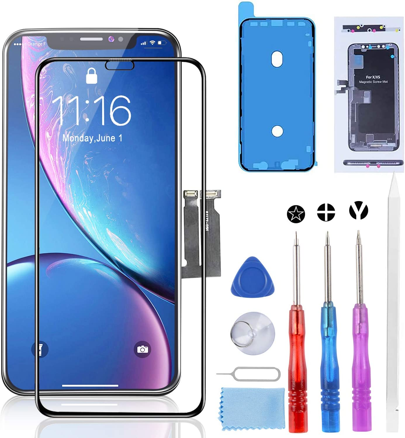 YPLANG for iPhone XR Screen Original Cheap SALE Start Replacement Pantalla Translated iPho