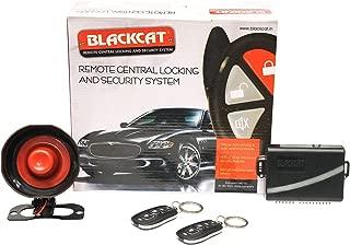 Blackcat Car Central Locking Alarm System BSA-4DM | 2 remotes | 4 Door Locking Motors | Security Alarm