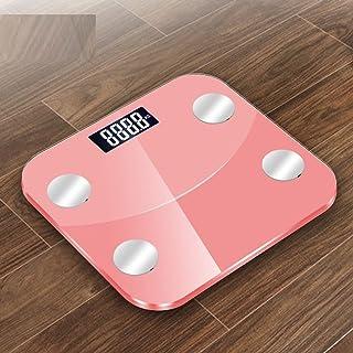 MHBY Báscula de Peso, 180 kg 25 Datos del Cuerpo Humano báscula Inteligente báscula de baño báscula de Peso Porcentaje de Grasa del hogar Contenido de Humedad báscula de Peso báscula
