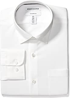 Amazon Essentials Men's Slim-fit Wrinkle-Resistant Stretch Dress Shirt