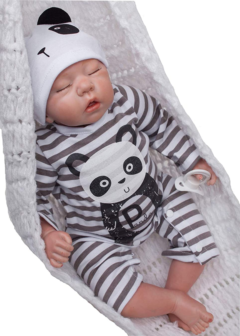 Wamdoll Rare Alive Collectible Sleepy Reborn Baby Girl Boy Dolls Look Real