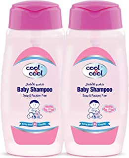 Cool & Cool Baby Shampoo 250ml - Twin Pack