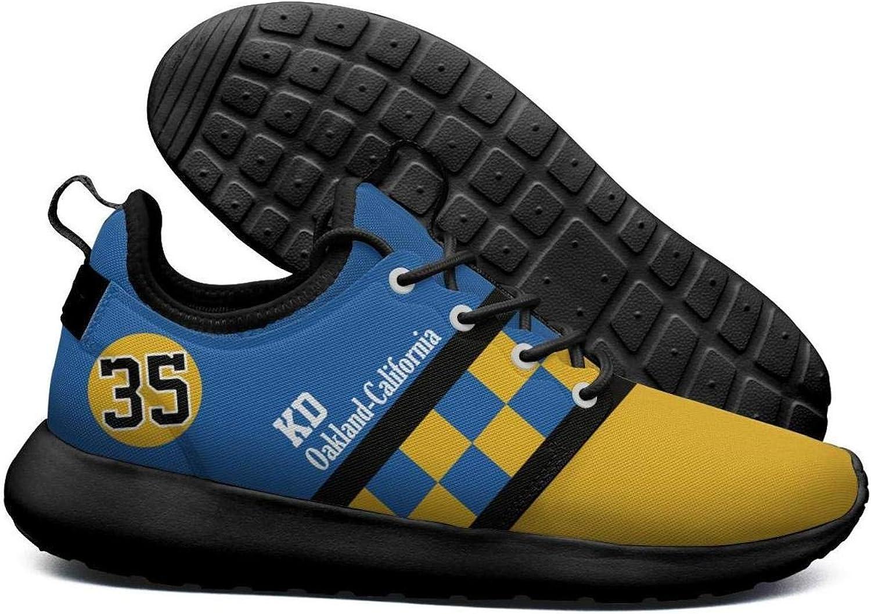 Uter ewjrt Man's Man's Man's gul -blå dividing line 35 Icke -Slip Athletic springaning skor Mes gående skor  billigt online
