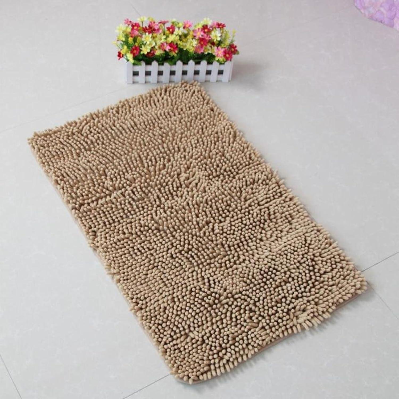 Chenille mat Kitchen Floor mats Bathroom Bathroom mats Water Absorption and Anti-skidding mat-A 80x160cm(31x63inch)