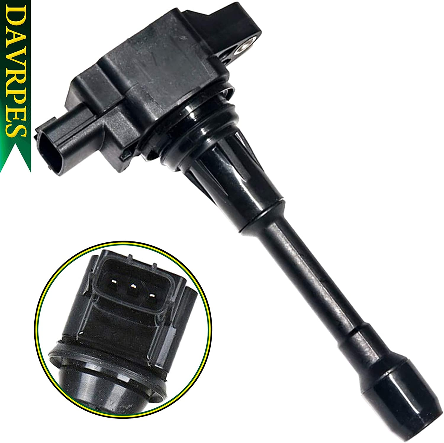 DAVRPES UF549 Ignition Coils Pack Cheap mail order shopping For 1 year warranty Cube S Rogue Sentra Altima