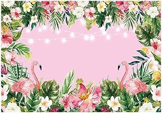 Funnytree Hintergrund, Pink, Flamingo, 7x5ft