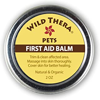 Wild Thera Pet Care. Paw Balm, Snout/Nose Balm, Pet First Aid and Pet Joint Care. Natural and Organic Pet Health. Safe for Cats & Dogs