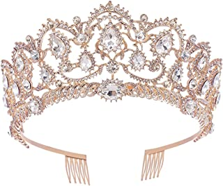 rose gold quinceanera crowns