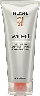 RUSK Designer Collection Wired Flexible Styling Creme 6 Oz, 6 Oz, IRAWRDP6