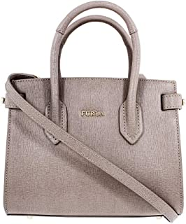 Furla Pin Ladies Mini Beige Sabbia Leather Tote 978749