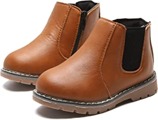 YWPENGCAI Kids Ankle Martin Boots Boys Girls Boots (Toddler, Little Kid)