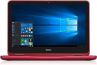 Dell i3168-3270RED 11.6in HD 2-in-1 Laptop (Intel Pentium, 4GB, 500 GB HDD, Windows 10) - Red (Renewed)
