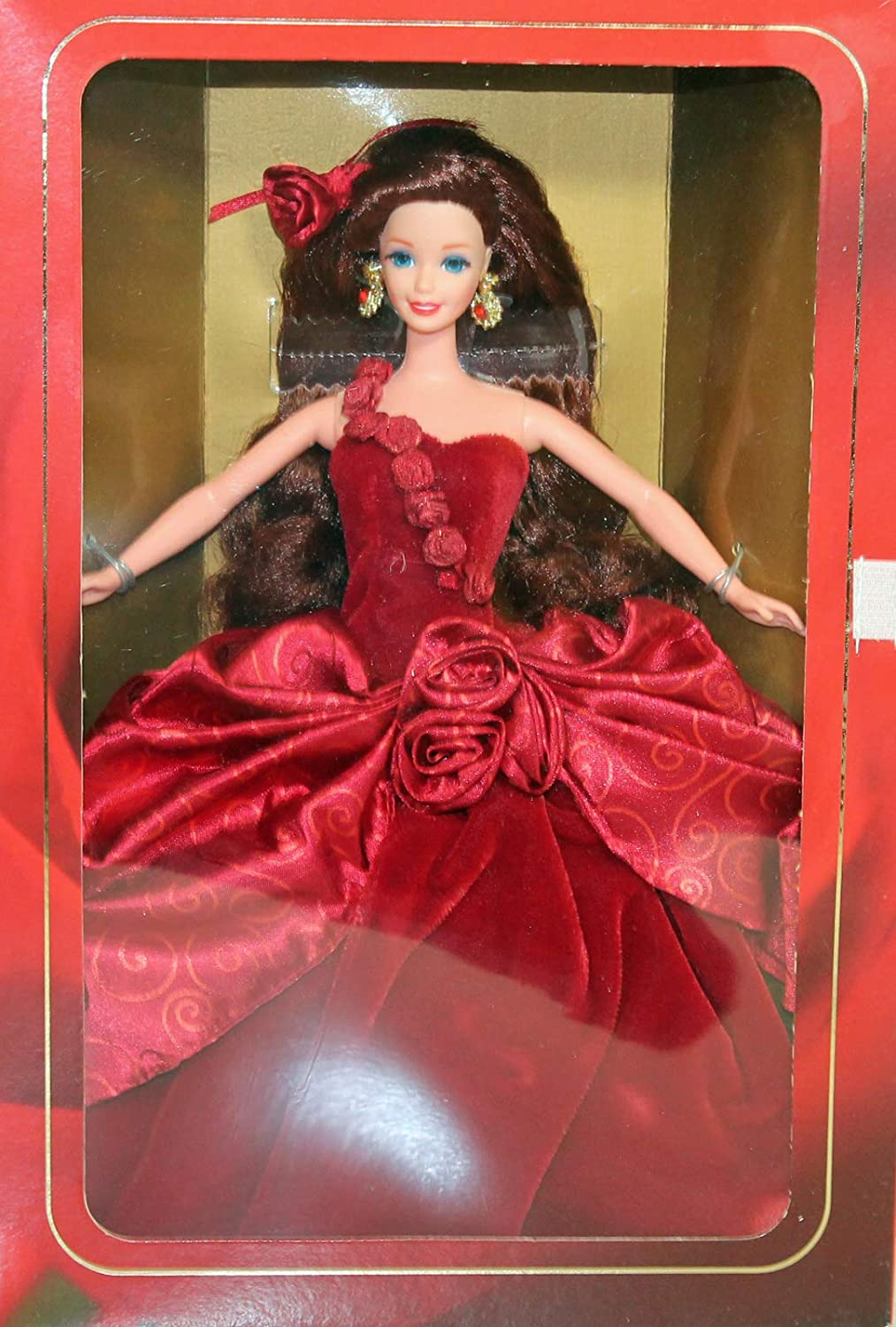 Radiant Complete Free Shipping Rose Barbie Doll - Mattel 2nd Gorgeous Style Limited Society