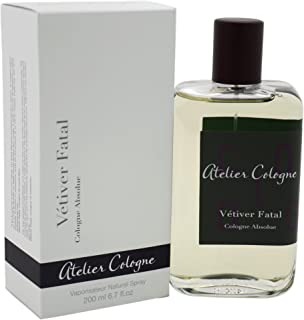 Atelier Cologne Vetiver Fatal Absolue Spray for Unisex, 6.7 Ounce