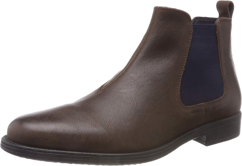 Geox Men's U Jaylon H Chelsea Boots