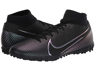 Nike Superfly 7 Academy TF (Black/Black) Cleated Shoes