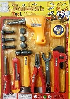 طقم أدوات النجار الرائع شنيور ومفتاح ومفك وكماشة ومسامير