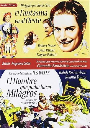 El Fantasma Va Al Oeste (The Ghost Goes West) (1935) / El Hombre Que Podía Hacer Milagros (The Man Who Could Work Miracles) (1936) (2Dvds) (All Regions) (Import)