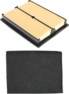 Autoparts 17210-ZJ1-840 Air Cleaner Filter Kit Replacement for Honda GX610 GX620 GX670 GXV610 GXV620 GXV60 Replace 7210-ZJ1-841 7210-ZJ1-842