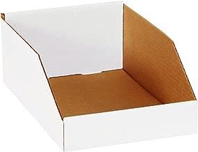 Aviditi BINMT812 Corrugated Open Top Bin Box, 12