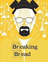BREAKING BREAD: Recipe Book Veggies & Fruits Cookbook Blank XXL (8.5 x 11) Recipe Journal & Organizer to write in - Yellow (Recipe keeper)