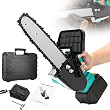 Sponsored Ad – Cordless Electric Chainsaw,TTLIFE 900W Cordless Power Saw Small Handheld Cutting Machine, 21V Cordless Elec...