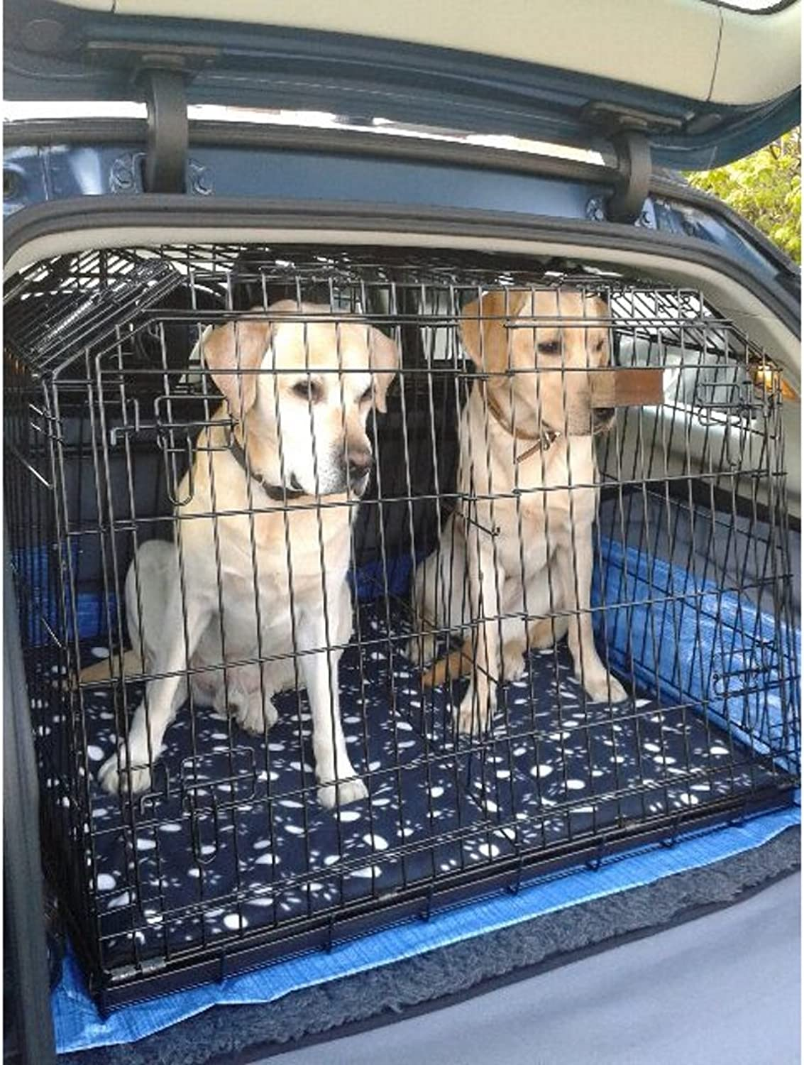 Arrow SAAB 93 SPORTSWAGON SLOPED ESTATE 4x4 CAR DOG CAGE TRAVEL CRATE PUPPY BOOT GUARD CAGES