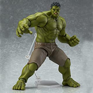 Action figures Hulk figma 271 PVC Action Figure Collectible Model Doll Toy 20cm (Color : With box)