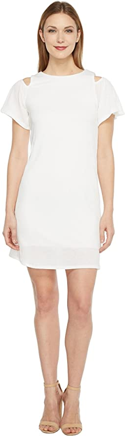 Brigitte Bailey - Marni Cold Shoulder Ruffle Dress