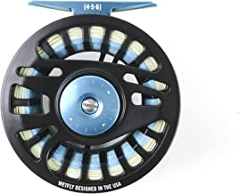 WETFLY Nitrolite 4/5/6 Fly Reel Preloaded with Backing and Fly Line