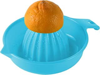 Tenta Kitchen Citrus Juicer Reamer with Handle and Pour Spout - Blue or Green - Arranged On The Random Basis
