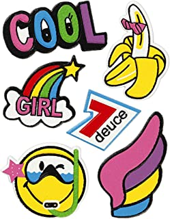 Soft Stickers, sheet 12,2x17,75 cm, Cool Girl, 1sheet