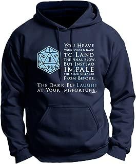 Funny Gamer Gifts D20 Critical Fail Premium Hoodie Sweatshirt