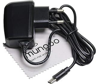 Cargador para JBL Charge 4, JBL Flip 5 Tipo-C 1m Cable de Carga USB 2A OTB con paño de Limpieza de Pantalla mungoo