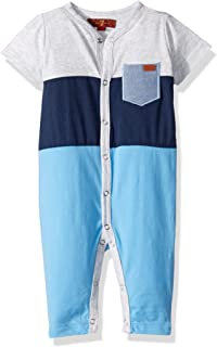 7 for All Mankind Baby-Boys Classic Jersey Cover-All Jumpsuit