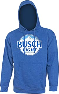 Busch Light Men's Royal Hoodie Sweatshirt Large