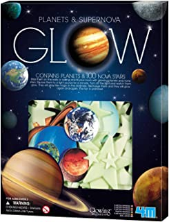 4M Glow In The Dark Planets & Supernova - Astronomy Space Stem Toys Gift Room Décor For Kids & Teens, Boys & Girls