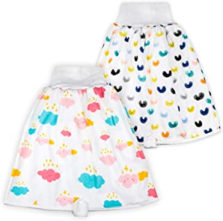 4 Pack Cotton Training Pants Toddler Potty Training Underwear for Baby Boys and Girls