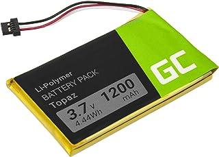 Accu, batterij Green Cell ® Topaz voor GPS Navigon 70 Plus 70/71 Plus 70/71 voormium 70/71 Easy, (Li-Polymer cellen 1200mA...