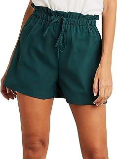 Elasticated Drawstring Waist Shorts For Women Closet by Styli