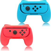 FYOUNG Grips for Nintendo Switch Joy-Con, Controllers for Nintendo Switch Joy Con - Blue and Red (2 Packs)