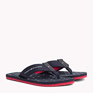 TOMMY HILFIGER Men's Flag Print Beach Sandals