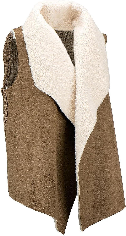 Chelsea & Theodore Women's Faux Fur Vest