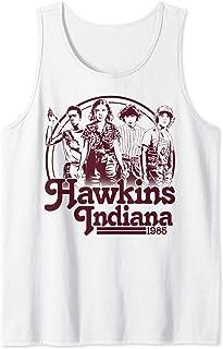 Netflix Stranger Things Hawkins Indiana Group Shot 1985 Débardeur