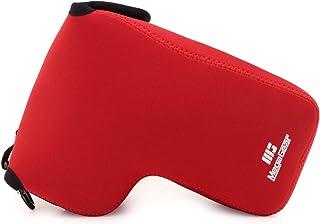 MegaGear MG1639 - Funda de Neopreno Ultraligera para cámaras Nikon Coolpix P1000 Color Rojo