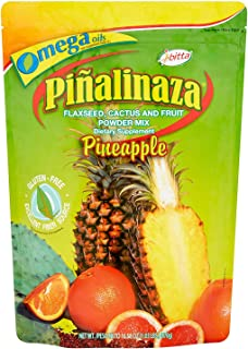 Ibitta Pinalinaza Flaxseed, Cactus and Fruit Powder Natural Colon Cleanse Detox, Energy Boost, Weight Loss Formula for Con...