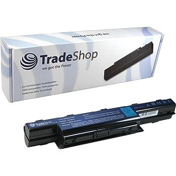 TM85 para Notebook Packard Bell EasyNote TK85 TM81 31CR19//652 TM82 vhbw Li-Ion bater/ía 6600mAh BT.00603.11. TM83 11.1V TM86 y AS10D31