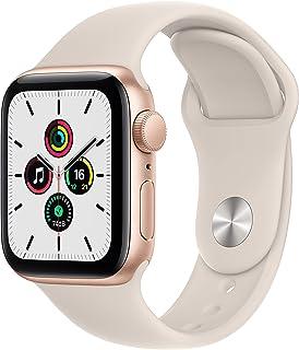 Apple Watch SE(GPSモデル)- 40mmゴールドアルミニウムケースとスターライトスポーツバンド - レギュラー