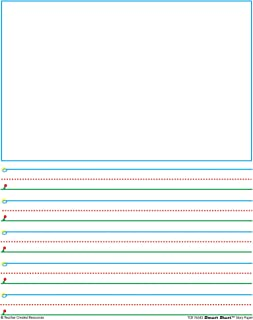Teacher Created Resources 76543 Smart Start 42737 Story Paper: 360 sheets
