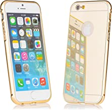 iCues   Compatible with Apple iPhone 6S/6   Amarillo Case Gold   Cover Shell Shookproof